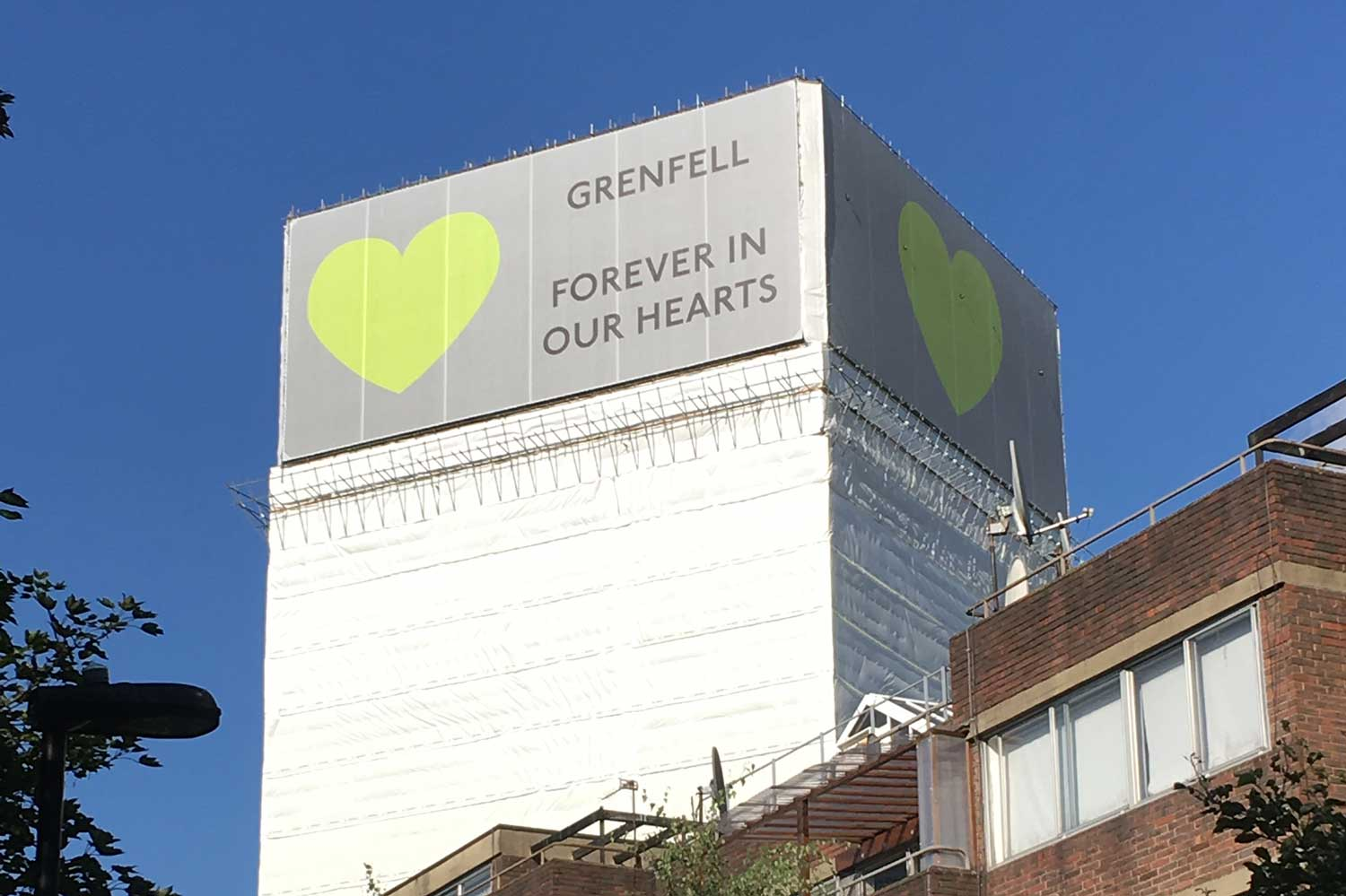 Grenfell Forever In Our Hearts