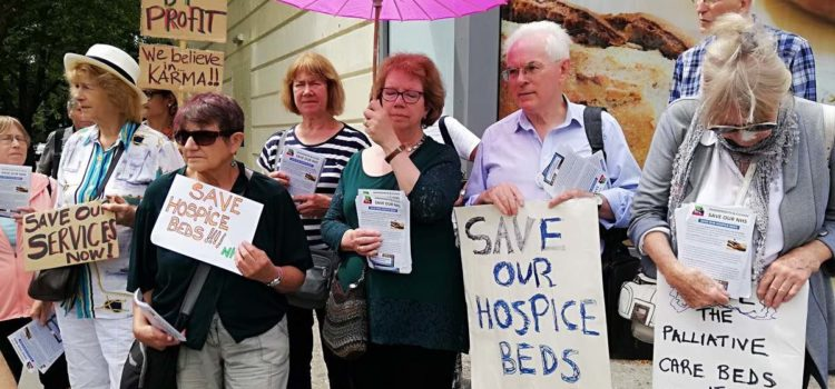 Emily Engel: Pembridge Unit hospice beds closed & may be axed for good