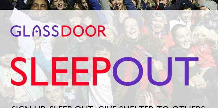 Outdoor Sleepout to Raise Funds for Winter Shelters