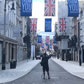 Dave Hill; London's 'non-essential' shops begin emergence from Covid lockdown