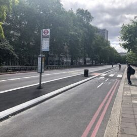 Dave Hill: What's happening with the Park Lane 'temporary' cycle lane?
