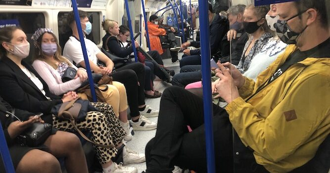 Dave Hill: Sadiq Khan calls for face-coverings to remain compulsory on public transport as government confirms rule will end